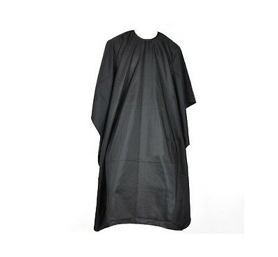 Black Hair Cutting Cape Salon Barbers Hairdressing Gown Unisex Waterproof Capes