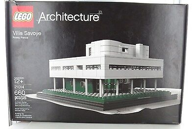 NEW LEGO Architecture 21014 Villa Savoye (660pcs) Free Shipping
