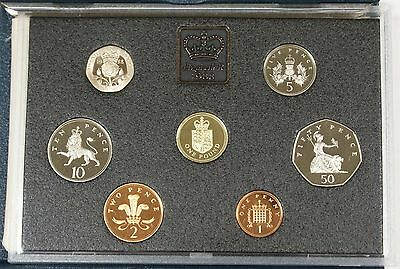 1988 United Kingdom Proof Set  In The Original  Mint Packaging With The Coa