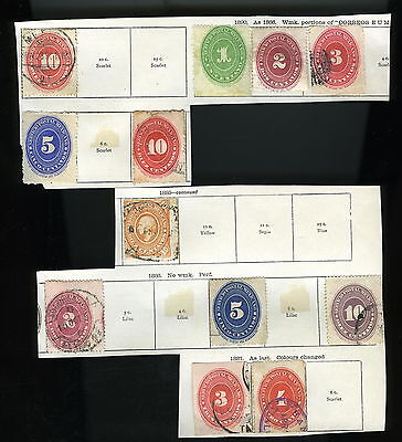 Postage Stamps - MEXICO #1 - Early Unsorted