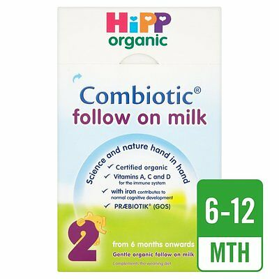 HiPP Organic Combiotic Follow On Milk 2  800GM Powder - FREE SHIPPING TO USA
