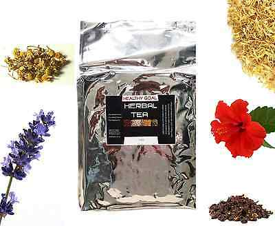 HERBAL TEA 1kg ~ Certified Organic ~ 100% Pure ~ Premium Dried Herbs Bulk