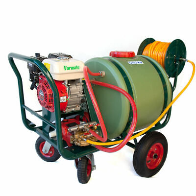 5.5HP Power Sprayer for Farm Weed or Pest Control Field Spray 120L Tank Trailer