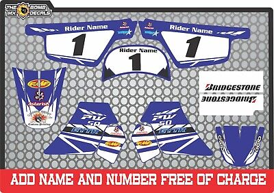 pw50 decals graphics yamaha pw 50 personal peewee laminated motocross factory