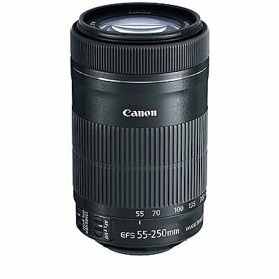 New Canon EF-S 55-250mm F4-5.6 IS STM Lens for Canon SLR Cameras - 8546B002