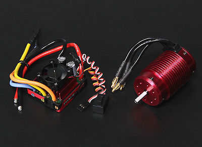 RC Turnigy TrackStar Waterproof 1/8 Brushless Power System 2300KV/120A