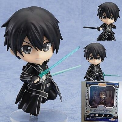 #295 Sword Art Online Kirito Nendoroid PVC Figure Collection New in Box