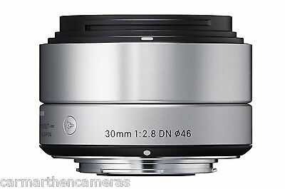 Sigma DN 30mm F2.8 Lens Sony E-mount Fit - Silver