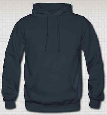 OFFERTISSIMA Felpa con Cappuccio Footex Made in Italy Blu Navy Sweet Hoodie