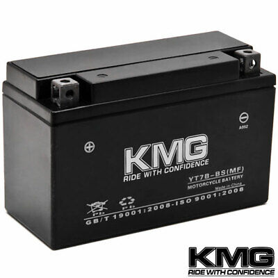 NEW High Performance 12V SMF Battery NEW Replacement YT7B-BS Maintenance Free