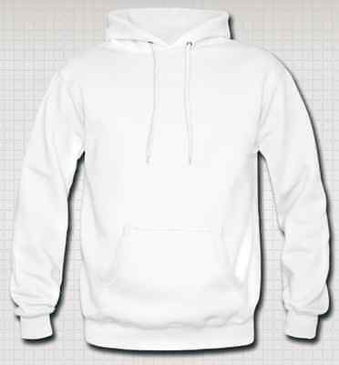 OFFERTISSIMA Felpa con Cappuccio Footex Made in Italy BIANCA Sweet Hoodie