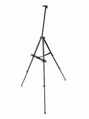 Portable Black Aluminum Easel with Carrying Bag