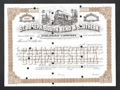 INDIANA South Bend & Southern Railroad Co -
