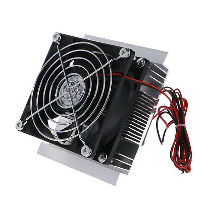 Semiconductor Thermoelectric Peltier Refrigeration Cooling System Kit Cooler DIY