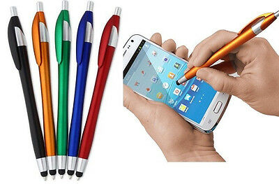 5 Universal Stylus Pens For iPhone iPad Mini Nexus Sumsung Tablet Kindle Fire