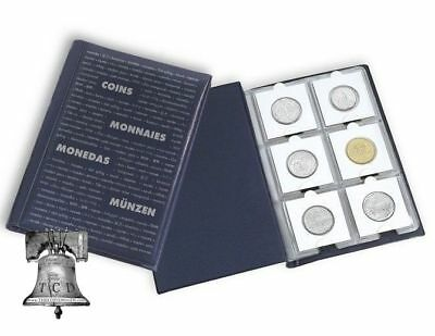 60 Pocket NUMIS Lighthouse HIGH QUALITY Coin Book Album for 2x2 Holders