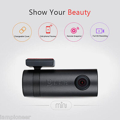 1080P Car DVR DDPai Mini Dash Cam Camera WIFI Night Vision Video Recorder + APP
