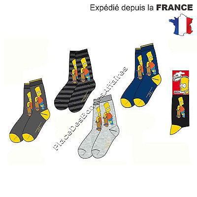 Chaussette Enfant SIMPSONS Lot de 3, 6, 9 Paires Assortie ME4263 !!!