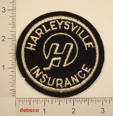 Vintage HARLEYSVILLE INSURANCE Embroidered Sew On PATCH