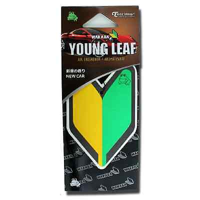Treefrog Wakaba Young Leaf JDM air freshener - New Car scent