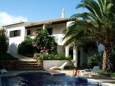 Large Villa Algarve Portugal 29th of July sleeps 12 price is for 7 nights
