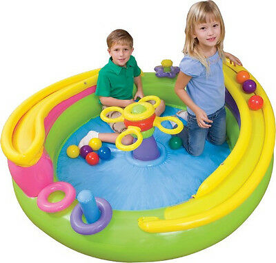 Genuine Intex Kids Play Centre Inflatable Lil Rolling Ball Toyz Activity Centre