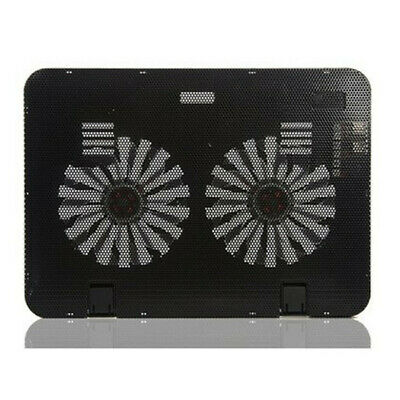 Laptop Cooling Cooler Pad Stand USB powered two fans for 15.6 inch notebook