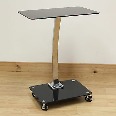 Hartleys Portable Laptop/Notebook Desk Stand with Castor Wheels Office/Computer