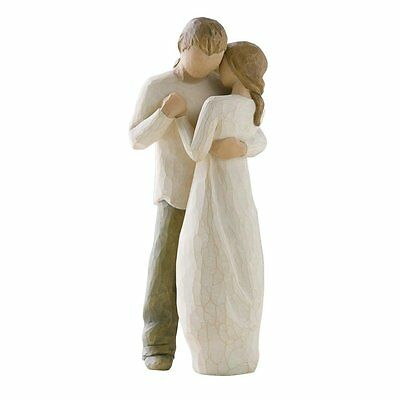 New & Boxed Willow Tree Figurine Couple 'Promise' #26121 Valentines Gift