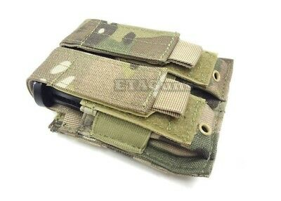 CONDOR Multicam MA23 MOLLE PALS Double Stack Pistol Magazine Mag Pouch Holster