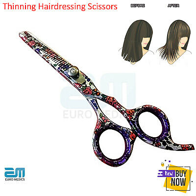 NEW Thinning Scissors FLOWER STYLE Hairdressing Scissors HairCutting Salon