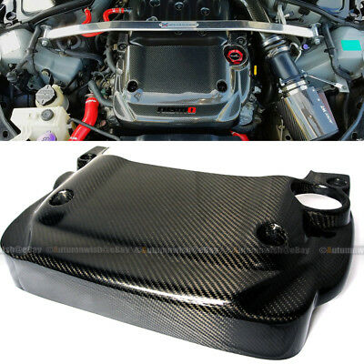 For Nissan 350Z Z33 V6 3.5 Fairlady Light Weight Real Carbon Fiber Engine Cover