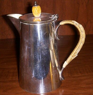 Israel Freeman & Son Silverplate SYRUP JUG with bakelite final
