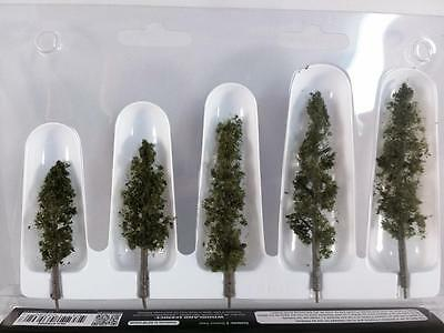 """Woodland Scenics Trees Standing Timber- Fir Pine 2.5""""-4""""  N HO O Scale #3560 New"""