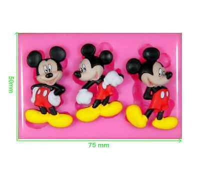 Disney Mickey Mouse Silicone Mould by Fairie Blessings