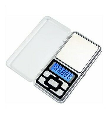 Mini Peso Bascula Digital 0-200 Gr Precision 0,1 Gr Hasta 0,2 Kilos Portatil