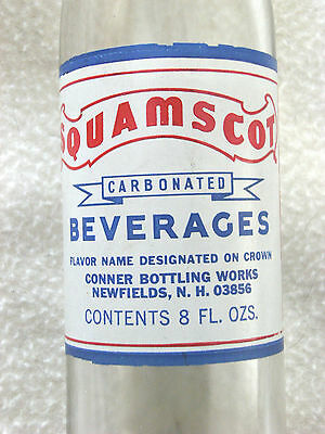 Squamscot  Beverages, 8 oz., Newfields, NH. 1973