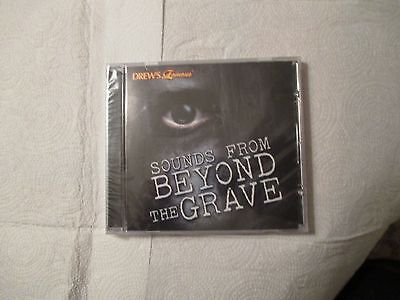 DREW'S FAMOUS SOUNDS FROM BEYOND THE GRAVE 63 HALLOWEEN SOUND EFFECTS CD NEW