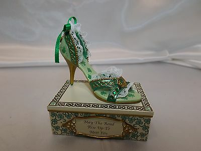 Irish Blessings Shoe Collection by Hamilton May the Road Rise Up to Meet You