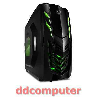Raidmax Viper GX Gaming Mid Tower Desktop PC Black Computer Case No PSU