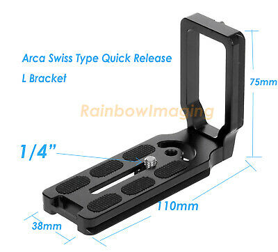 Universal Arca Type Release L Plate Bracket 4 Canon Rebe T6i T6 T5i T5 T4i T4