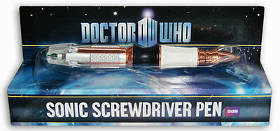 Dr Who Matt Smith 11th Eleventh Doctor's Sonic Screwdriver Ink Pen New