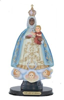 "12"" Inch Our Lady of Regla Catholic Statue Figurine Figure Religious"