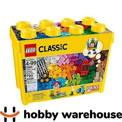 LEGO 10698 Classic BULK 790pc Large Creative Brick Box (BRAND NEW SEALED)