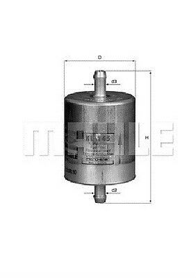 Kl145  Mahle Benzinfilter  Bmw (R-Serie )  R1100Rt / R1100S / R1150Gs