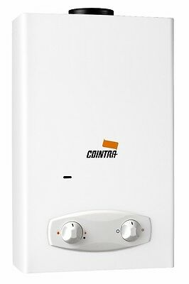 1197 Cointra Optima COB-5p Gas-Durchlauferhitzer Propangas , 8,9 KW , 5 LpM