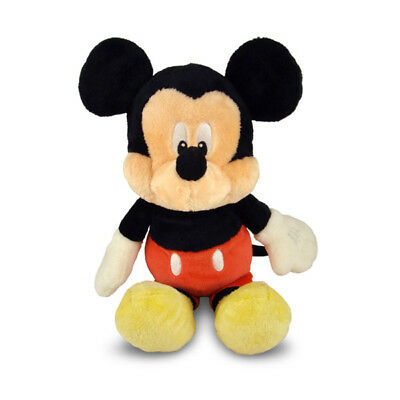 "Mickey Mouse soft plush toy babysafe with rattle DISNEY BABY 13""/33cm NEW"