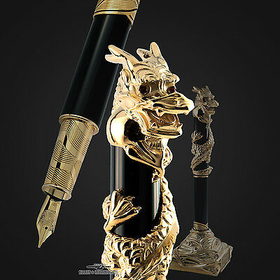 S.T Dupont Prestige Year Of The Dragon Limited Edition Fountain Pen