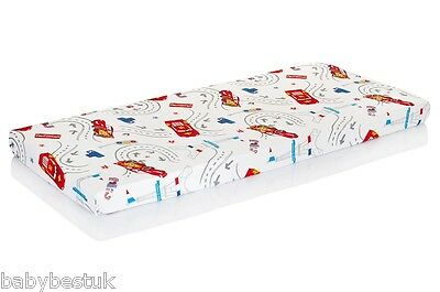 New Disney Baby Cot Bed Fitted Sheet - 140x70cm - Disney Cars - 100% cotton