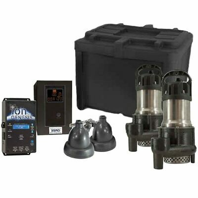 iON 35ACi Max Deluxe Battery Backup Sump Pump System (3000 GPH @ 10')